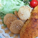 シンプル♪長芋のバタマヨしょうゆ焼き