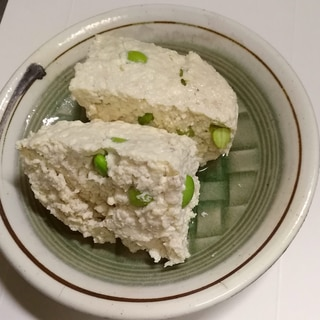 レンチン!豆腐と鶏ひき肉のミートローフ