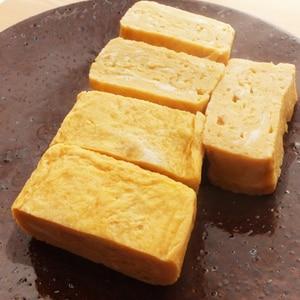 甘くない★だし巻き卵