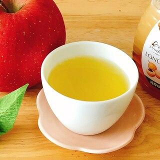 はちみつりんご×生姜緑茶