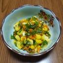 1歳から食べれるトウモロコシの野菜炒め