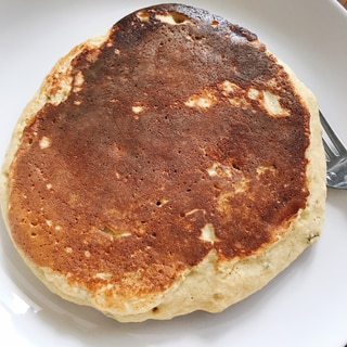 米粉とおからパウダーのバナナパンケーキ