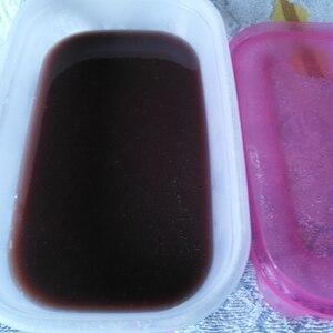 ゼラチンで作る水羊羹