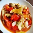 母の日に作る☆アサリのトマトスープパスタ