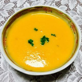 マヨネーズでコク♡にんじんたっぷりのの冷製スープ