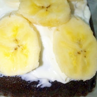 美味!バナナヨーグルトチョコ蒸しパン
