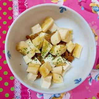 バナナと納豆