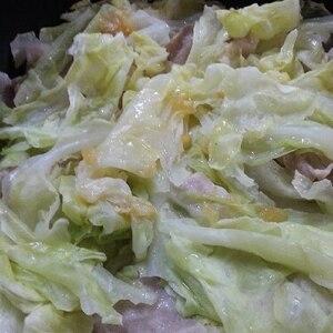 レンジで超簡単!☆豚肉と春キャベツの塩レモン蒸し☆