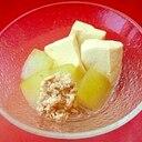 簡単★冬瓜と高野豆腐の含め煮★夏の冷たいおかず