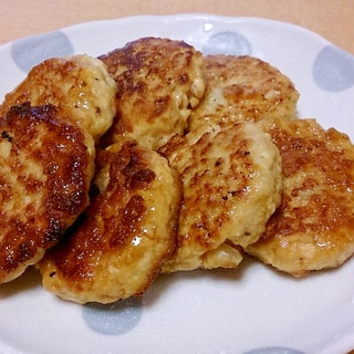 照り焼き豆腐ハンバーグ~お弁当用に取り分け~