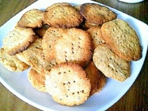 ダイエット☆おからきなこクッキー