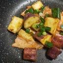 食欲の秋★鮭とさつま芋の味噌炒め