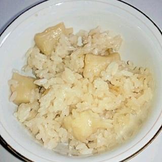 ホタテの貝柱の炊き込みご飯