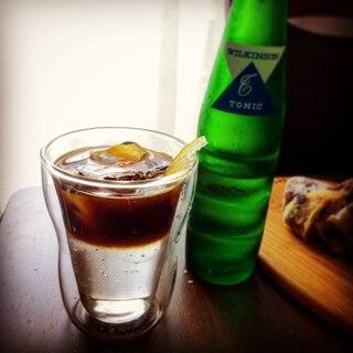 おうちカフェ*エスプレッソトニック