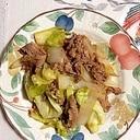 牛バラ肉、玉葱、キャベツの炒め物~♪