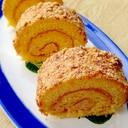 プラリネロールケーキ