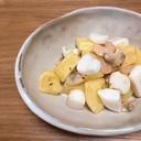 魚介とジャガイモ炒め