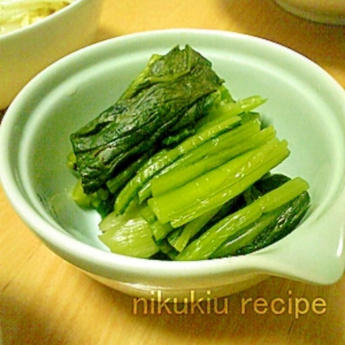 漬け レシピ 菜 野沢