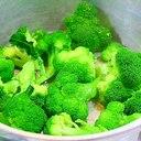 蒸しブロッコリー*無水鍋