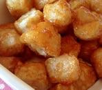 里芋から揚げの甘辛