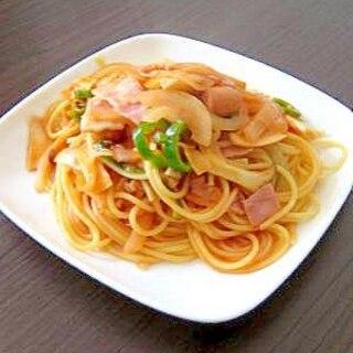 みんな大好き♪お店の味のナポリタンスパゲティ