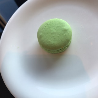 黄緑のマカロン