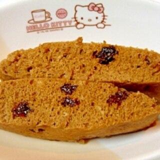 ホットケーキミックスで★コーヒー蒸しパン