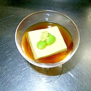 もっちもっちの枝豆豆腐