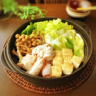 あんこう鍋とシメの雑炊