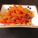 しっかり味の金平ごぼう✨箸休めやお弁当、作り置きに