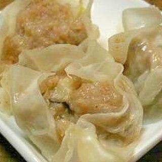 中華料理屋のシュウマイ