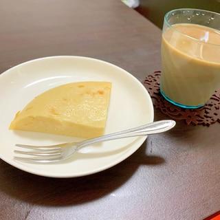 炊飯器で米粉ヨーグルトチーズケーキ