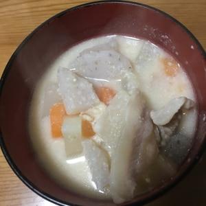 あったか豚粕汁☆冬のご馳走