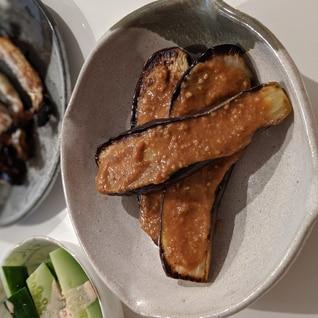 フライパンで作る茄子田楽