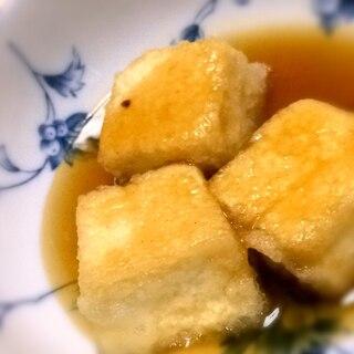 サクサク揚げ出し豆腐と餡の作り方♪