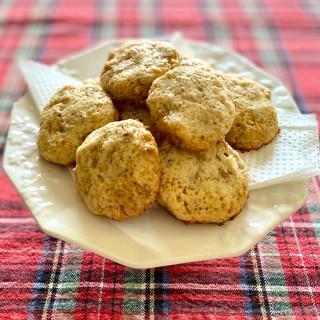 もち麦と胡桃のクッキー