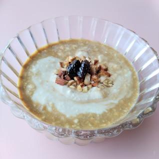 甘くほろ苦い、蜂蜜とレーズンとコーヒーのヨーグルト