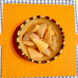 タケノコと里芋の煮物♪
