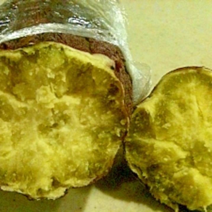 レンジで美味しくさつま芋をチンする方法