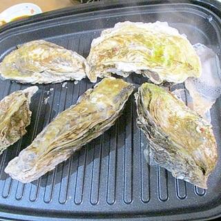 自宅でできる殻つき牡蠣の焼き方