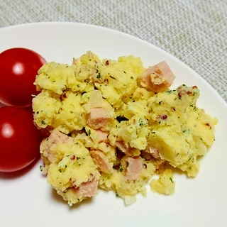 キタアカリで☆マスタード風味のポテトサラダ