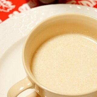 温まる♪ホット梅酒ストロベリージンジャーミルク