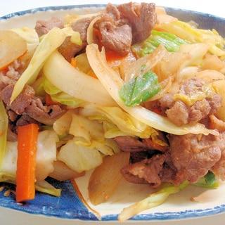 牛肉とキャベツの★ピリ辛炒め~♪