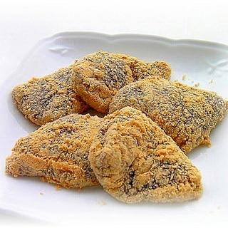 片栗粉で♪なんちゃって黒糖くず餅