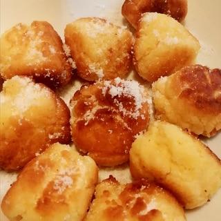 HMで簡単☆10分で作れる揚げ焼きドーナツ