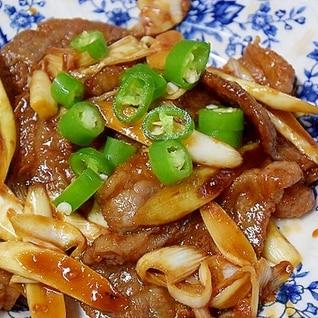 韓国食材で☆「ピリ辛焼き肉」