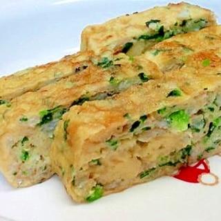 【離乳食】しらす&小松菜の卵焼き