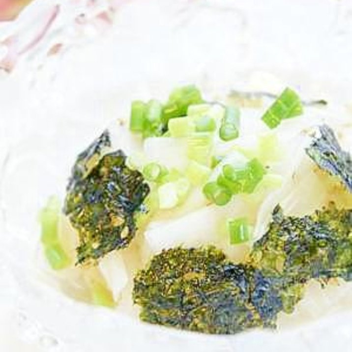 あえるだけ ★ 和風大根海苔サラダ