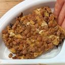 幼児食 納豆たまご