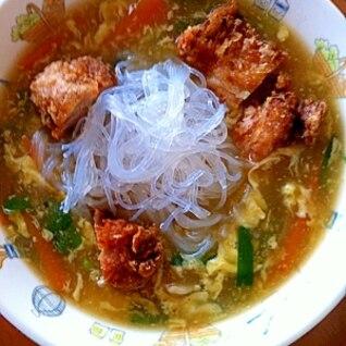 春雨中華スープ
